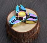 Fidget Spinner Metall - Rainbow (Lång spinntid)