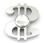 Fidget Spinner Metall Aluminium- Dollar (Lång spinntid)