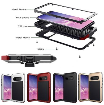 Samsung Galaxy S10 - Stilsäkert Skal i Aluminium
