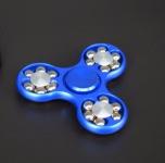 Fidget Spinner Metall Aluminium- Kullager (Lång spinntid)