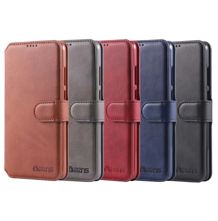 Samsung Galaxy S10 - Skyddande Stilrent PU-Läder Plånboksfodral