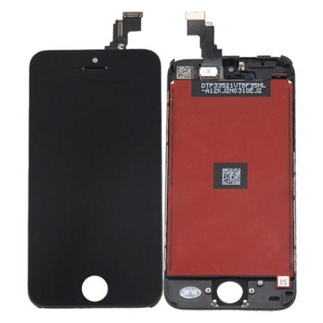 iPhone 5C - LCD Display Skärm (SVART)