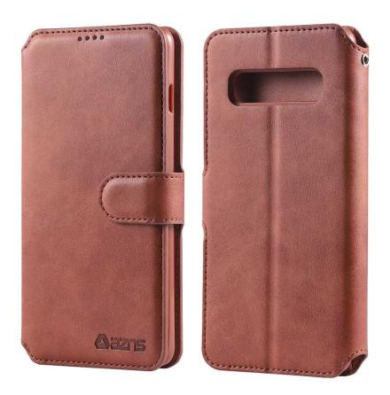 Samsung Galaxy S10 Plus - Stötdämpande Praktiskt Plånboksfodral