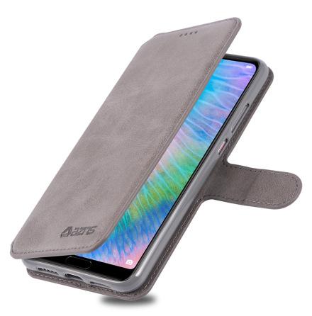 Huawei P20 - Stilrent Retro Skyddande Plånboksfodral