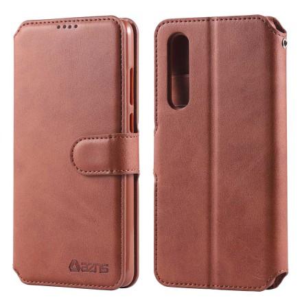 Huawei P30 - Praktiskt Skyddande Plånboksfodral (AZNS)