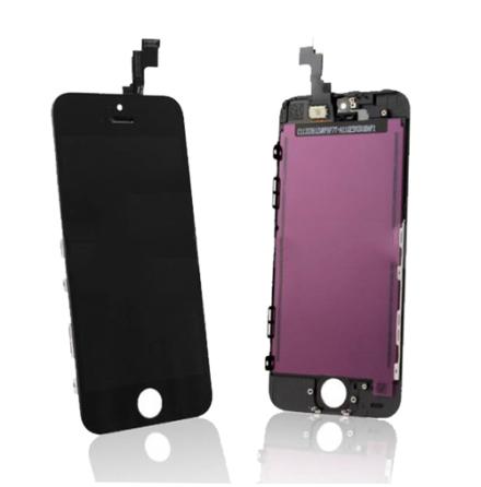 iPhone 5S - LCD Skärm Display (SVART)