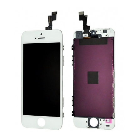 iPhone 5S - LCD Skärm Display (VIT)