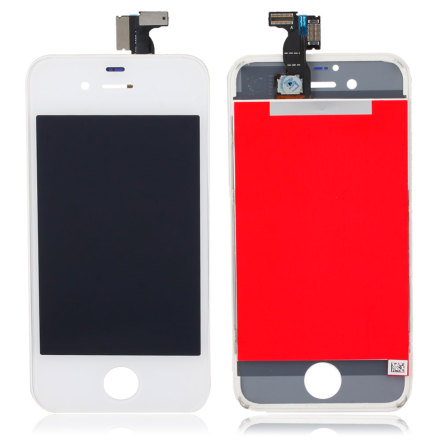 iPhone 4 - LCD Display Skärm (VIT)