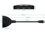 HDMI SWITCH SPLITTER 3 till 1 1080p