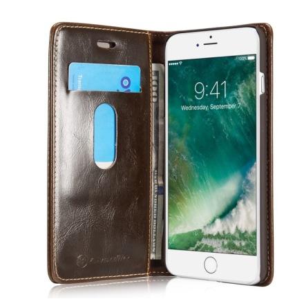 Elegant Plånboksfodral i Läder för iPHONE 7 från CASEME