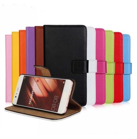 Huawei P10 Plus - Stilrent Plånboksfodral från TOMKAS (Läder)
