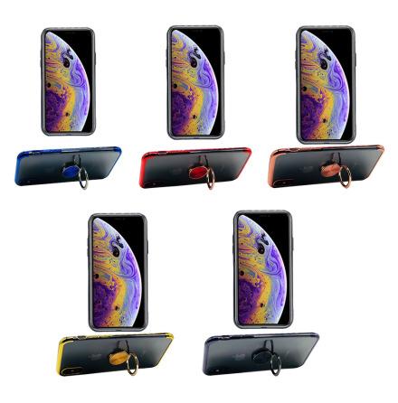 iPhone X/XS - FLOVEME Stilrent Skal med Ringhållare