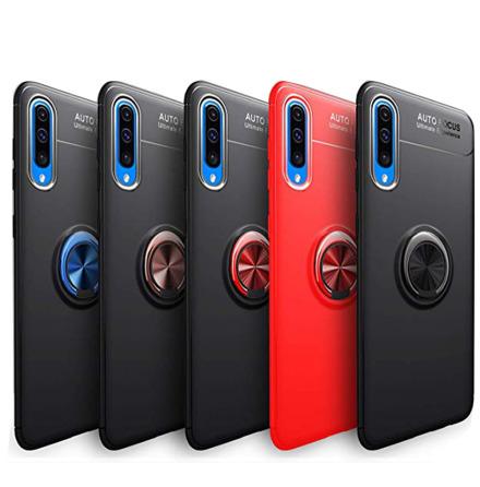 Samsung Galaxy A50 - Stilsäkert AUTO FOCUS Skal Ringhållare