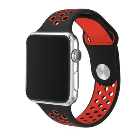 Apple Watch 38mm -  NORTH EDGE Stilrena Silikonarmband