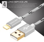 USB-laddkabel iPhone 5 6 7  VOXLINK (Lightning)