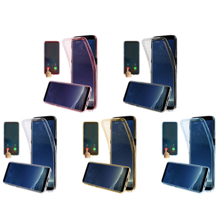 Samsung Galaxy A10 - Skyddande Dubbelsidigt Silikonskal
