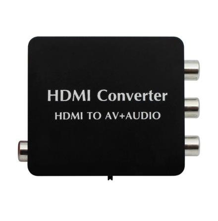 HDMI till AV + Audio omvandlare (Converter)