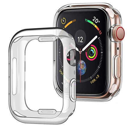 iWatch 4 Serie Silikonskal 40mm 44mm