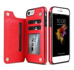 iPhone 6/6S - NKOBEE Läderskal med Plånbok/Kortfack