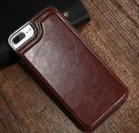 iPhone 7 Plus - NKOBEE Läderskal med Plånbok/Kortfack