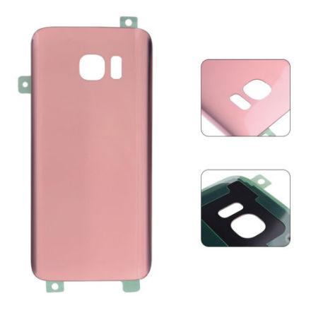 Samsung Galaxy S7 Edge - Baksida Batterilucka (OEM) ROSÉGULD