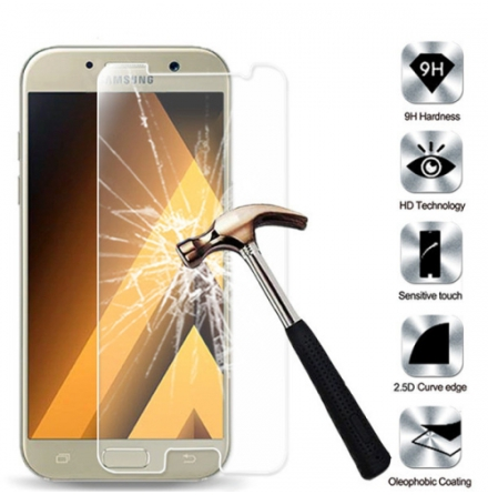 Samsung Galaxy A5 - HuTech Skärmskydd/Pansarglas (modell 2017)