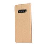 Samsung Galaxy S10 - Praktiskt Plånboksfodral (FLOVEME)