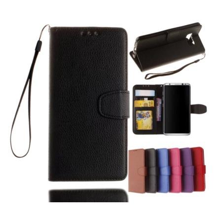 Samsung Galaxy S6 - Stilrent Plånboksfodral från NKOBEE