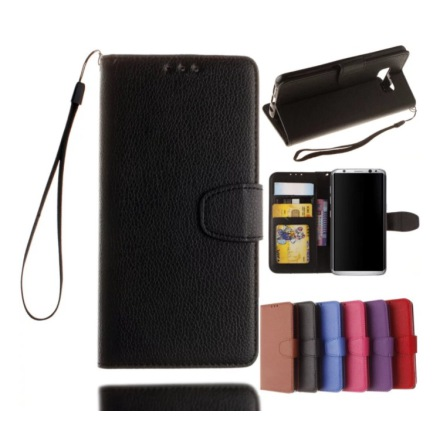 Samsung Galaxy S6 Edge - Stilrent Plånboksfodral från NKOBEE