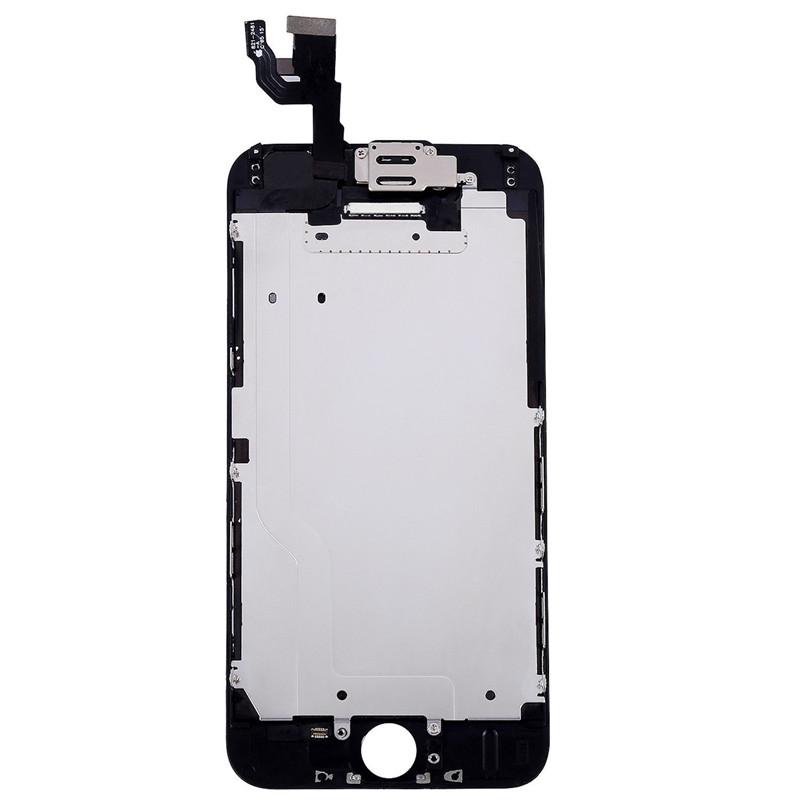 Iphone skärm blinkar svart
