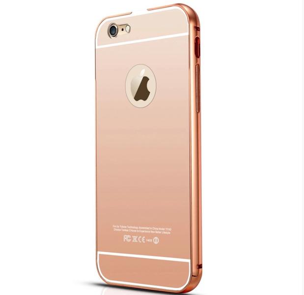 Artikelbild  iPhone 6 6S - Elegant skal från LEMAN (ram i Aluminium) e3774f580c3a7