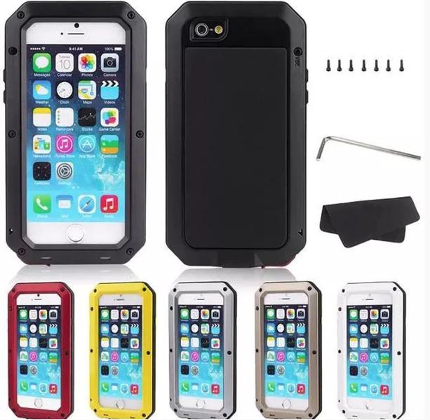 Army SHOCK-DROP Aluminum-fodral för iPhone 6 6S - mobilrex 8c4f100bed9d5